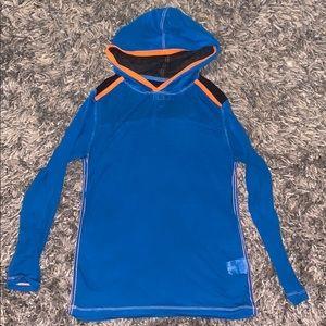 Boys size 10/12 Buckle Black hoodie